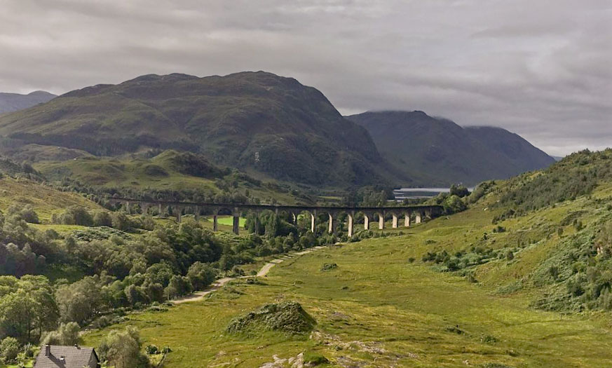 Glenfinnan y Harry Potter