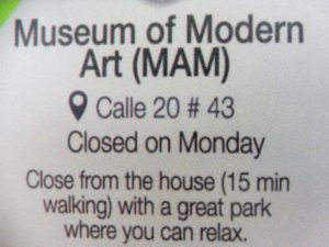 Museum of Modern Art in Medellin