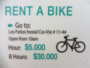 RENT A BIKE IN MEDELLIN